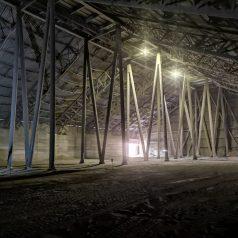 Cementownia Ożarów- Hala klinkieru